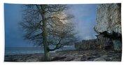 The Tree Of Inis Mor Bath Towel