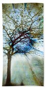 The Truth Of Trees Bath Towel