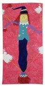 The Un-scaredcrow By Ken Tesoriere Bath Towel