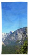 The Valley Of Inspiration-yosemite Bath Towel