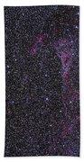 The Veil Nebula Bath Towel