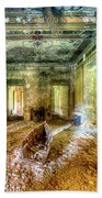 The Villa Of The Boat In The Antique Salon - La Villa Della Barca Nell'antico Salone Bath Towel