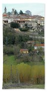 The Village And The Countryside Bath Towel