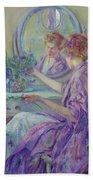 The Violet Kimono 1911 Bath Towel