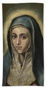 The Virgin Mary Bath Towel