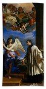 The Vocation Of Saint Aloysius Gonzaga Bath Towel