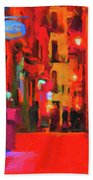 The Walkabouts - Spanish Red Moon Stroll Bath Towel
