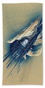 The Watchtower Bath Towel by Jason Girard