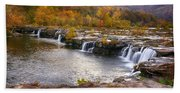 The Waterfalls Bath Towel