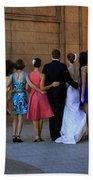 The Wedding Party Detail Bath Towel