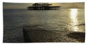 The West Pier Hand Towel