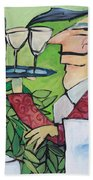 The Wine Steward Bath Towel