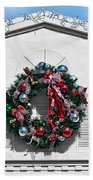 The Wreath Bath Towel