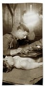 The X-ray Department Base Hospital 34, U. S. A., Nantes, France,  1918 Bath Towel
