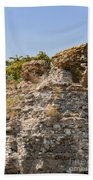 Theodosian Walls - View 1 Bath Towel