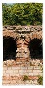 Theodosian Walls - View 13 Bath Towel
