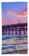 There Will Be Another One - San Clemente Pier Sunset Bath Towel