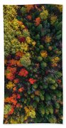 These Are Trees Bath Towel