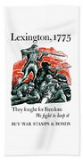 They Fought For Freedom - We Fight To Keep It Bath Towel