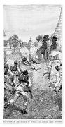 Third Burmese War, 1885 Bath Towel