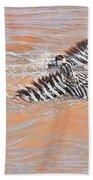 This Way Son Bath Towel by Alan M Hunt