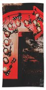 This Way To Rock City Hand Towel