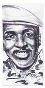 Thomas Sankara 02 Bath Towel