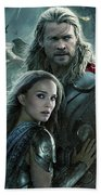 Thor 2 The Dark World 2013 Bath Towel