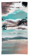 Thousand Island Sunset Bath Towel