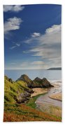 Three Cliffs Bay 4 Hand Towel