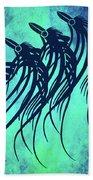 Three Crows Contemporary Minmalism Bath Towel