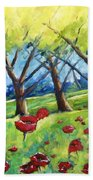 Through The Meadows Hand Towel
