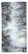 Through The Trees Bath Towel