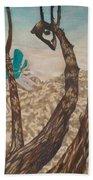 Through The Trees, St John Bath Towel