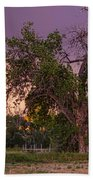 Thunderstorm In The Woods Bath Towel