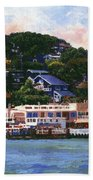 Tiburon California Waterfront Bath Towel