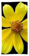 Tickseed Sunflower Bath Towel
