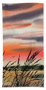Tideland Sunset Bath Towel