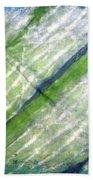 Tie Dye Art. Rainforest In Spring Bath Towel