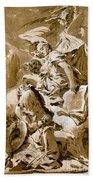 Tiepolo: Saint Jerome Bath Towel