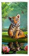 Tiger Lily Bath Towel