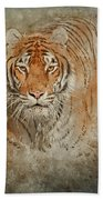 Tiger Splash Bath Towel