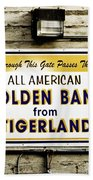 Tigerland Band Bath Towel