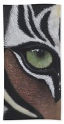 Tiger's Eye Bath Towel