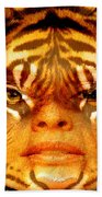 Tigress Bath Towel