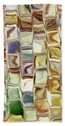 Tiled Abstract Bath Towel