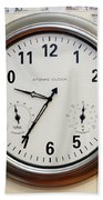 Time And Money Bath Towel