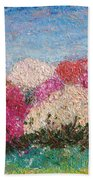 Time Of Rhododendron Bath Towel