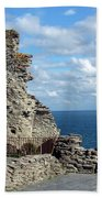 Tintagel Castle 1 Bath Towel