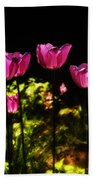 Tiptoe Through The Tulips Bath Towel